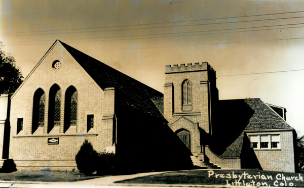 The first service was held in the new building on January 12, 1930.