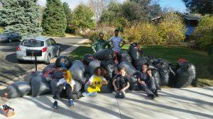 Youth Serve Day 2016: Leaf Raking