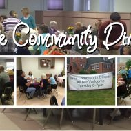 March Community Dinner – CANCELLED