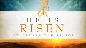 "Why do you look for the living among the dead? He is not here, but has risen.""  Luke 24:5b"
