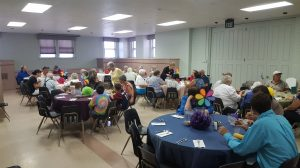 Despite the rain … many new faces for FPCL's July Community Dinner