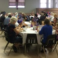 FPCL Celebrates with a July 4th Themed Community Dinner