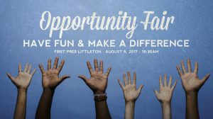 FPCL's Opportunity Fair highlights all the ways to be a part God's Kingdom