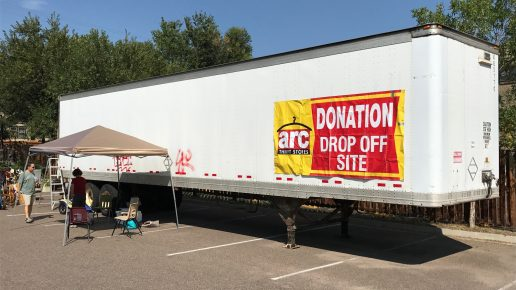 "FPCL's Gently Used  Items ""Fill the Truck"" in Support of arc Thrift Stores!"