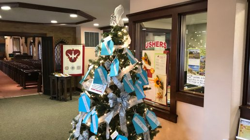 Christmas Giving Tree for our Whiz Kids