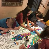 Advent, a time for preparation, a time for searching, a time for expecting Jesus … and a time for coloring!