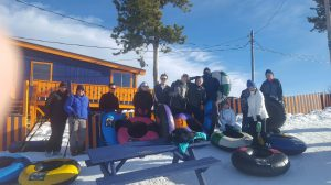 Youth Group Tubing in Fraser, Colorado