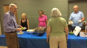 Pulled Pork and Baked Beans; A Big Hit at FPCL's June Community Dinner