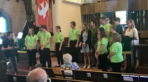 Blessing of the Youth Mission Trip & TNT Handbell Trip