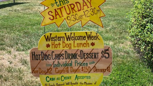 5th Annual Western Welcome Week Hot Dog Lunch – BEST PLACE TO WATCH THE PARADE!!