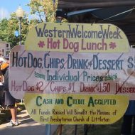 4th Annual Western Welcome Week Hot Dog Lunch – BEST PLACE TO WATCH THE PARADE!!