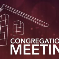 Don't Miss Our Annual Congregational Meeting on January 27th!