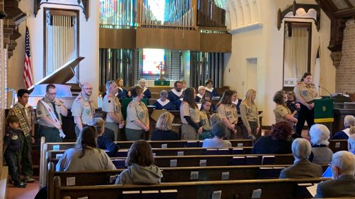 FPCL Commissions Girl's Troop 444
