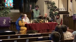 Maundy Thursday Re-enactment