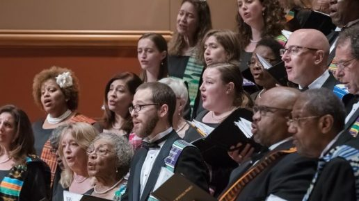 Saturday Lunch Presents … The Spirituals Project Choir … Saturday, April 17, 1:00 pm