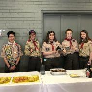 New 444 Lady Mountaineers Troop Sponsors the May Pastor's Breakfast