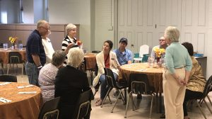 September's Community Dinner Attracts Nearly 75 Diners