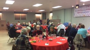 Blustery Night Still Draws a Crowd for FPCL's February Community Dinner