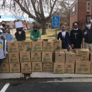 Mission Committee and Youth Group Food Drive Collects over 40 boxes of food!