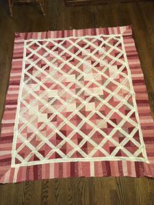 Pink Friendship Quilt (Donna Burns)