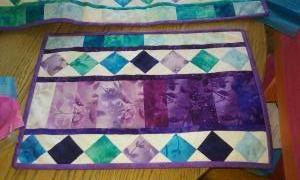 Placemats and Table Runner (Terry Schilling)