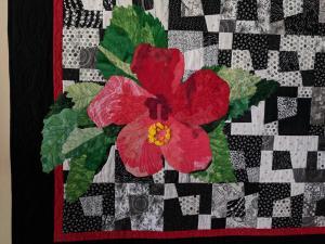 Red Hibiscus Detail (Chris Mendelsberg)