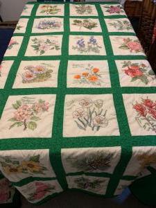 State Flower Quilt (Blythe Lund)