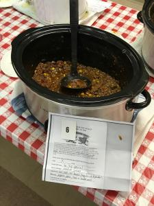 """3rd Place """"Tri-tip Special"""" Chili"""